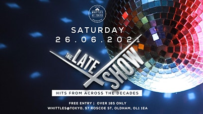 The Late Show Band tickets