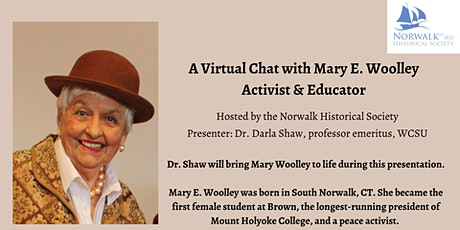 A Virtual Chat with Mary E. Woolley – Activist & Educator tickets