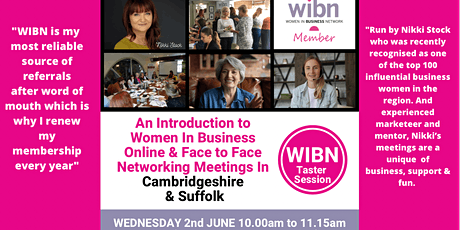 INTRODUCTION TO NETWORKING WITH WIBN CAMBRIDGE & SUFFOLK tickets