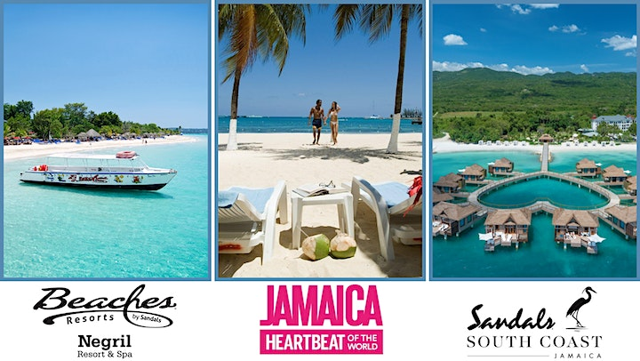 Broadcasting LIVE from Jamaica - Virtual Vacation Escape image