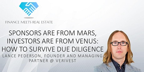 Sponsors are from Mars, Investors are from Venus: Surviving Due Diligence tickets