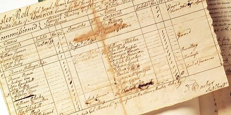 Researching your Revolutionary War ancestor/proving service at Valley Forge tickets