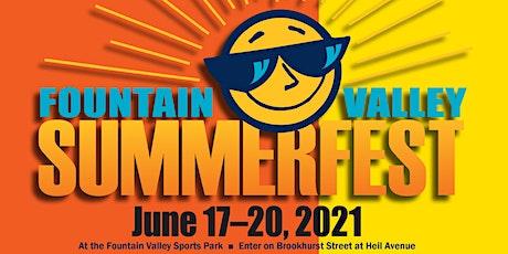 Fountain Valley Summerfest tickets