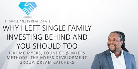Why I Left Single Family Investing Behind and You Should Too tickets