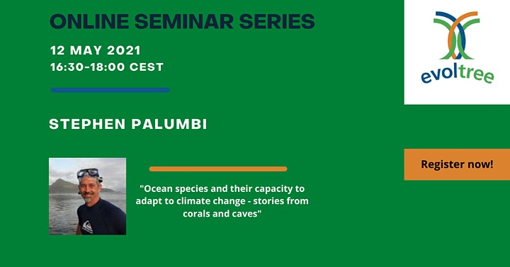 """EVOLTREE Online Seminar Series on """"Adapting to climate change"""" image"""