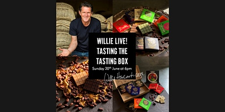 Live Chocolate Tasting with Willie Harcourt-Cooze tickets