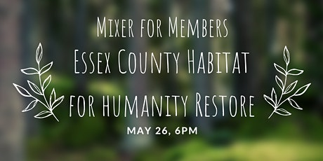Mixer for Members at Habitat for Humanity tickets