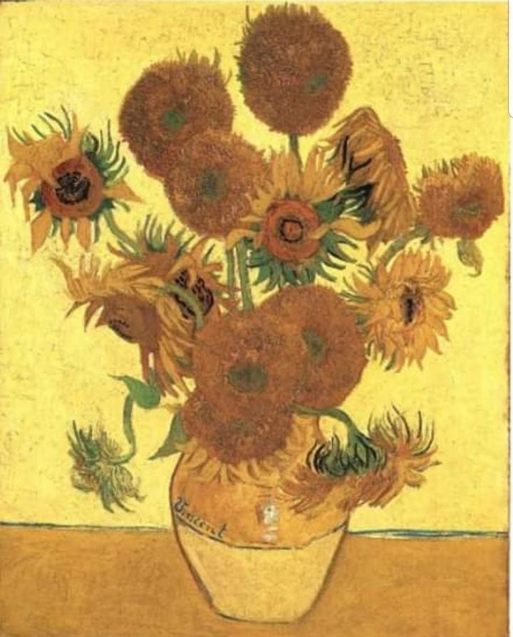 Van Gogh Sunflowers image