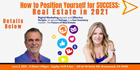 How to Position Yourself for Success  -  Real Estate in 2021 tickets