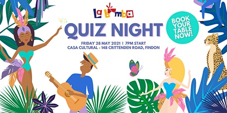 La Bomba - Quiz Night to aid our Samba Competitors tickets