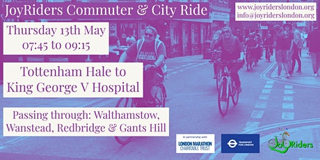Commuter and City Ride: Tottenham Hale to King George V Hospital tickets