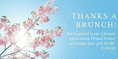 Advocate Appreciation Event tickets