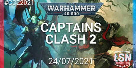 Captains Clash 2 - 40k 16 man singles event tickets