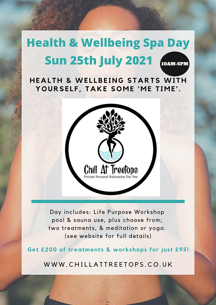 25-07-21 Health & Wellbeing Spa Day - Whitstable image