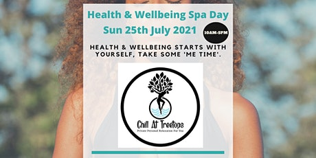 25-07-21 Health & Wellbeing Spa Day - Whitstable tickets