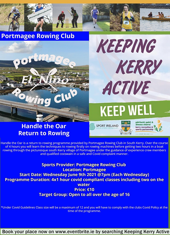 Keeping Kerry Active -  Handle the Oar image
