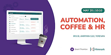 Automation, coffee and HR tickets