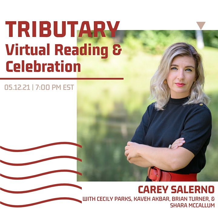 TRIBUTARY Book Launch + Reading image