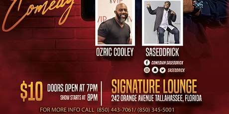 Comedy show at Signature Lounge silly Saturday tickets