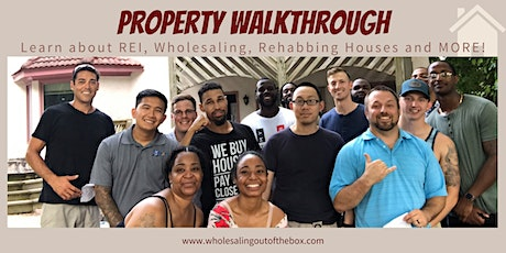 Wholesaling Property Walkthrough (In-Person & Virtual Available) tickets