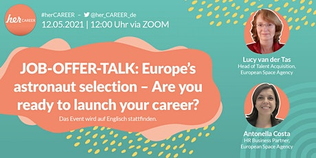 Europe's astronaut selection. Are you ready to launch your career? Tickets