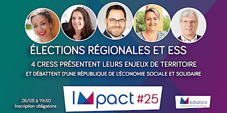 Élections Régionales : les attentes de l'ESS à l'égard des candidats billets