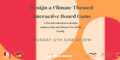 Design a Climate Themed Interactive Board Game for all the Family! tickets