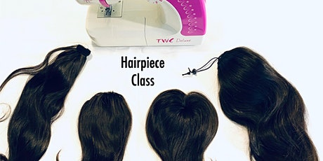 New Orleans LA Hairpiece Making Class with Sewing Machine tickets