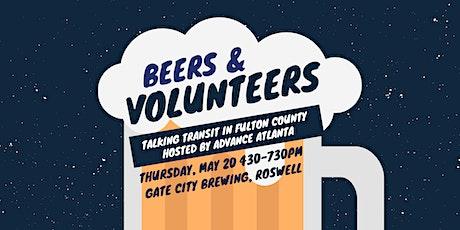 Beers & Volunteers: Talking Transit in Fulton County tickets