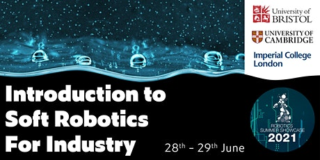 Introduction to Soft Robotics for Industry tickets