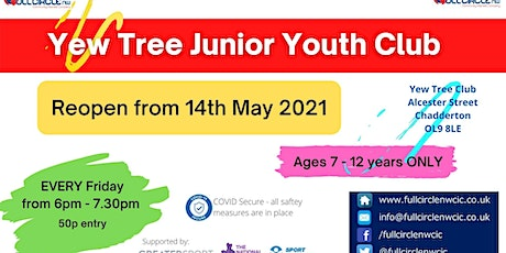 Yew Tree Junior Youth Club tickets
