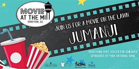 Movie at the Mill: Jumanji tickets