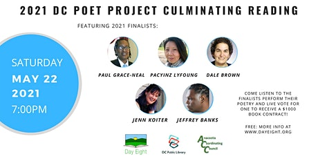 2021 DC Poet Project Culminating Reading tickets