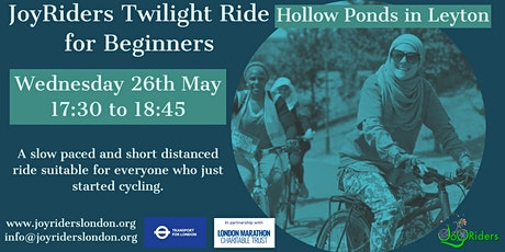 Twilight Beginners Ride: Hollow Ponds in Leyton tickets