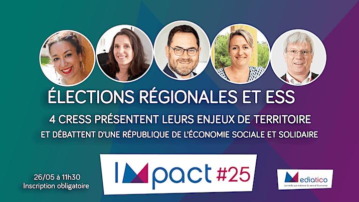 Image pour Élections Régionales : ce que l'ESS attend des candidats dans 4 régions