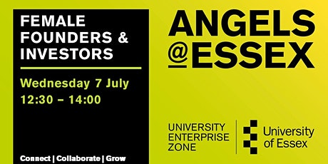 Angels@Essex - Female Founders and Investors Roundtable tickets