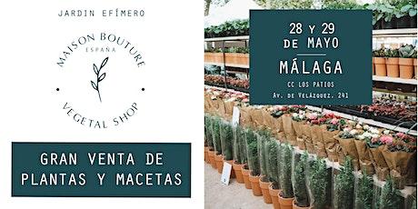 Málaga // El Jardín Efímero de Maison Bouture entradas