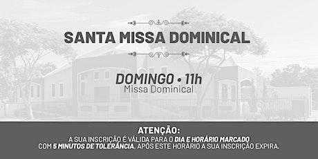 Santa Missa Dominical - Domingo   09 de Maio 11h ingressos