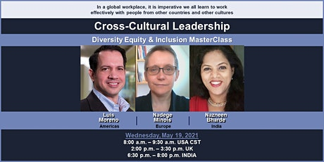 DEI: Cross-Cultural Leadership MasterClass tickets