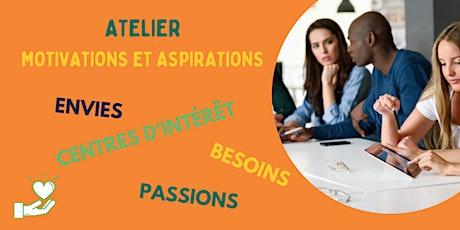Atelier Motivations et Aspirations tickets