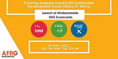 Tracking progress toward the SDGs in Africa using Afrobarometer tickets