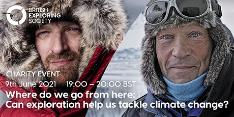 Where do we go from here: can exploration help us tackle climate change? Tickets
