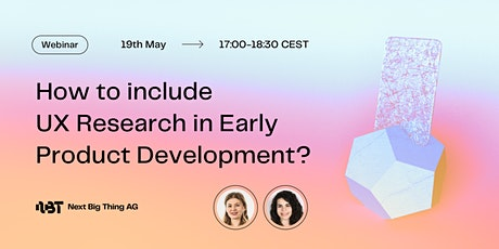 The Role of UX Research in Early Product Development entradas