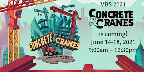 VBS 2021 - Concretes & Cranes tickets