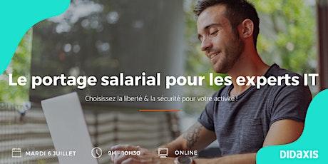 Le portage salarial pour les experts IT tickets