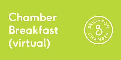 Chamber Breakfast July (virtual) tickets