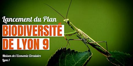 Lancement du Plan Biodiversité Lyon 9e ! billets