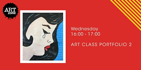 Online Pop Art Painting Workshop for Senior Primary Students tickets