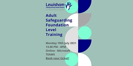 Online Adult Safeguarding Foundation Level Training Session tickets
