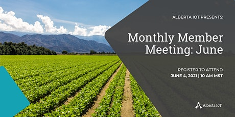 Monthly Member Meeting - June tickets